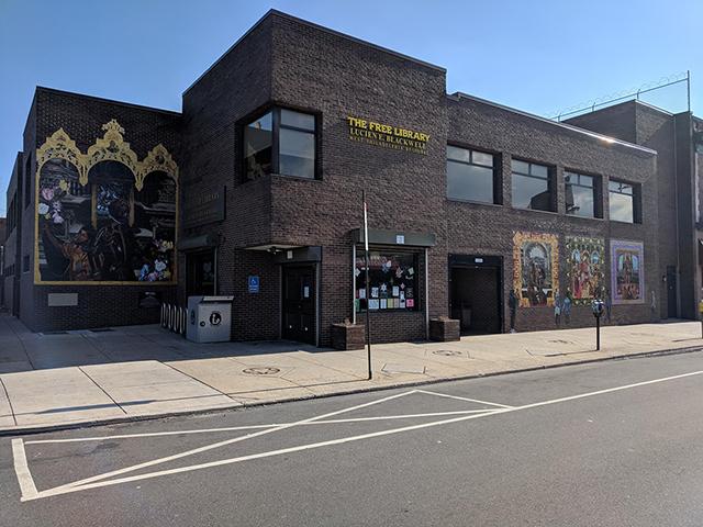 Photo of Lucien E. Blackwell West Philadelphia Regional Library