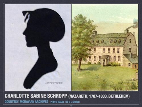 Charlotte Sabine Schropp (Nazareth, 1787-Bethlehem, 1833)
