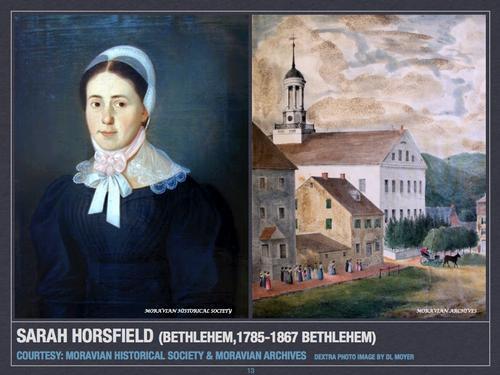 Sarah Horsfield (Bethlehem, 1785-1867 Bethlehem)