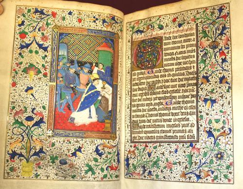 Becket opening, ff. 21v-22r