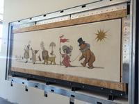 The Maurice Sandak Chertoff Mural, now installed in the South Philadelphia Library Children's Library.