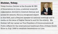 Tobey Dichter, Digital Justice Activist