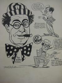 Caricatures of Wynn