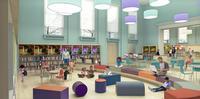 Logan Library Children's Department rendering