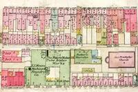 Detail from a 1905 Hexamer & Son fire insurance map (Volume 6, Plate 82)