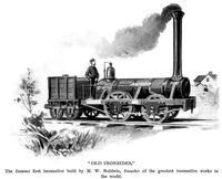Baldwin's first locomotive,