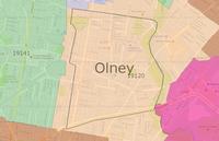 Olney's boundaries