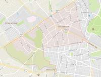 Map of Overbrook