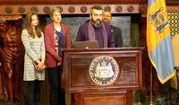 Frank Sherlock's induction as Poet Laureate: January 2014