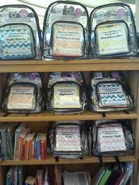 Eastwick Neighborhood Library Family Fun Literacy Backpacks
