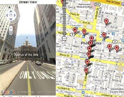 Hip Map Streetview