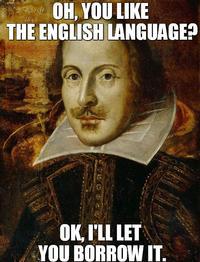 Oh, Shakespeare!