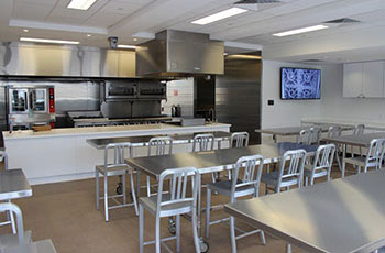 Example of culinary room available