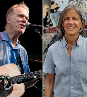 Loudon Wainwright III with Eileen Myles