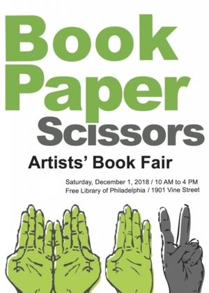 Book Paper Scissors: Artists' Book Fair