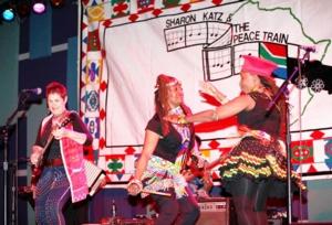 Image for Live Muisc Showcase   Sharon Katz & the Peace Train
