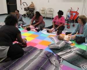 Read, Baby, Read: Baby Massage with Tiffany Silliman Cohen