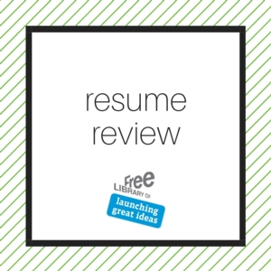 VIRTUAL - Resume Review