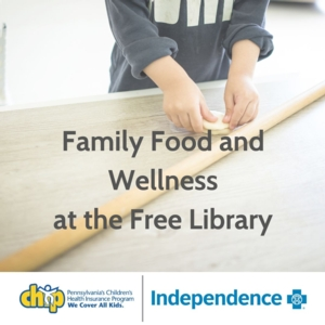 CANCELLED - Family Food and Wellness: Cooking