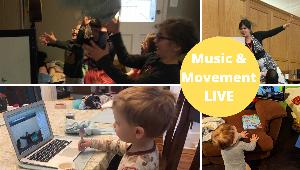 Virtual Music & Movement with Ms. Naomi!