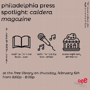 Philadelphia Press Spotlight: Caldera Magazine