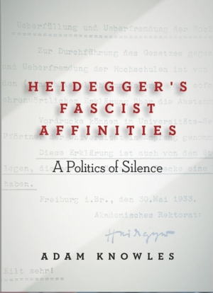 The Case of Martin Heidegger: Philosophy, Anti-Semitism and National Socialism