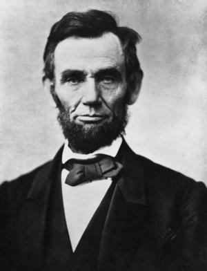 Abraham Lincoln at the Philadelphia Fair