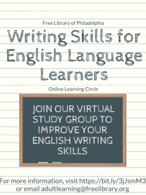 Writing Skills for English Language Learners