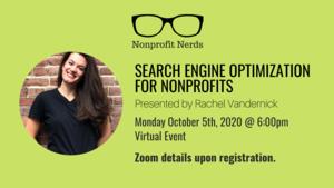 VIRTUAL Nonprofit Nerds: Search Engine Optimization for Nonprofits