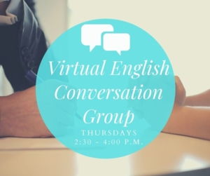 05/13/21: Virtual English Conversation Group - Virtual Program