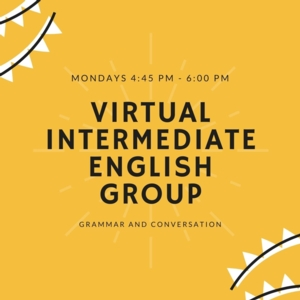 Virtual Intermediate English Conversation Group