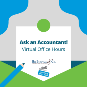 Virtual Ask an Accountant: Virtual Office Hours with an Accountant