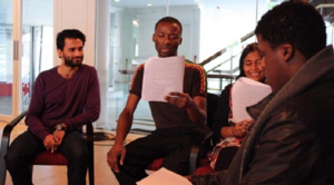 Playwright Workshop with Theatre Exile