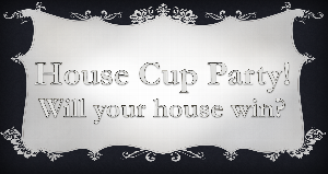 Teen Center House Cup Monthly Party For May Winners!