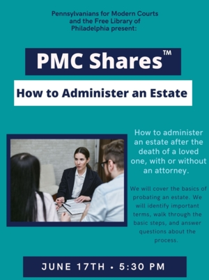 How to Administer an Estate Workshop