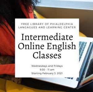 Intermediate Online English Classes