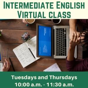 Intermediate English Virtual Classes