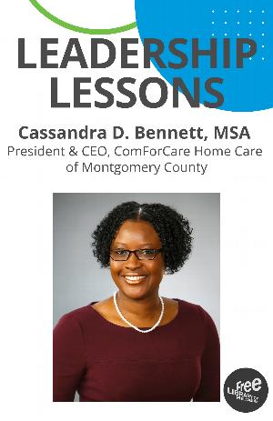 Virtual Leadership Lessons: Cassandra D. Bennett