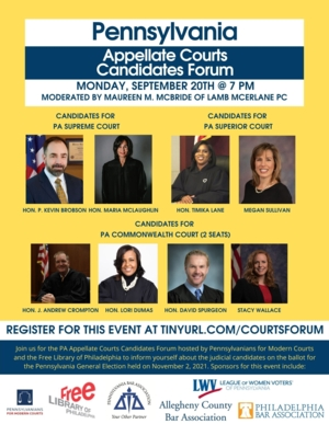 Pennsylvania Appellate Courts Candidate Forum