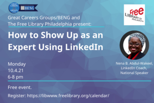 Virtual - How to Show Up as an Expert Using LinkedIn