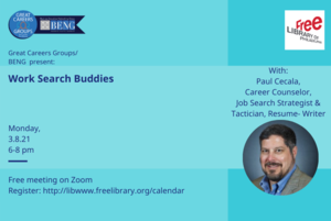 Work Search Buddies:  Finding Success with a Little Help from a Friend