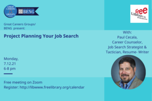 Project Planning Your Job Search