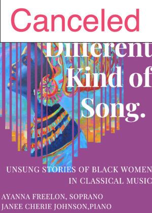 **CANCELED** Virtual Program | ENA ensemble presents: A Different Kind of Song
