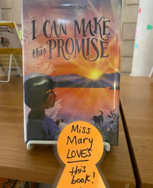 VIRTUAL Friday Reads Book Talk with Miss Mary