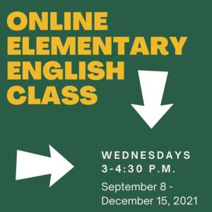 Online Elementary English Class