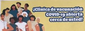 Clinica de vacunacion COVID-19 11:30-4