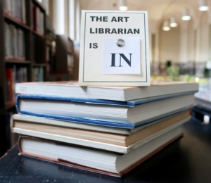 The Art Librarian is IN