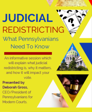 Judicial Redistricting: What Pennsylvanians Need To Know