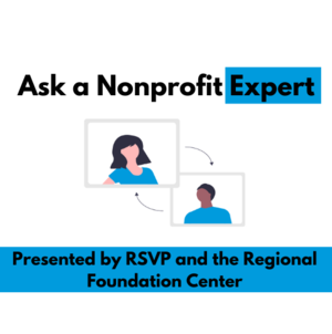 Virtual Ask a Nonprofit Expert: Fundraising