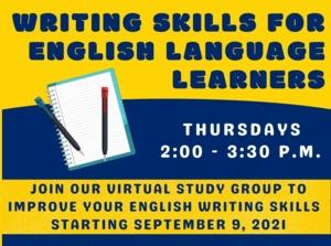 Virtual: Writing Skills for English Language Learners